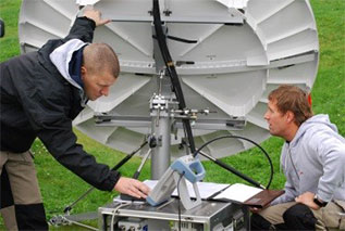 First land VSAT service operations
