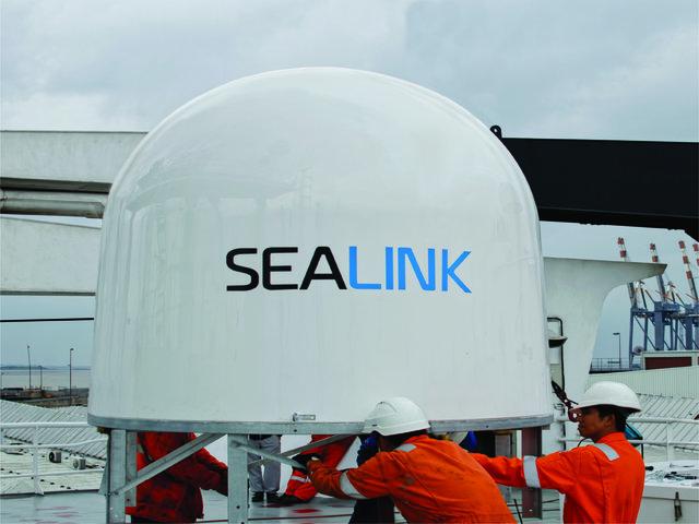 Sealink, Maritime VSAT antenna