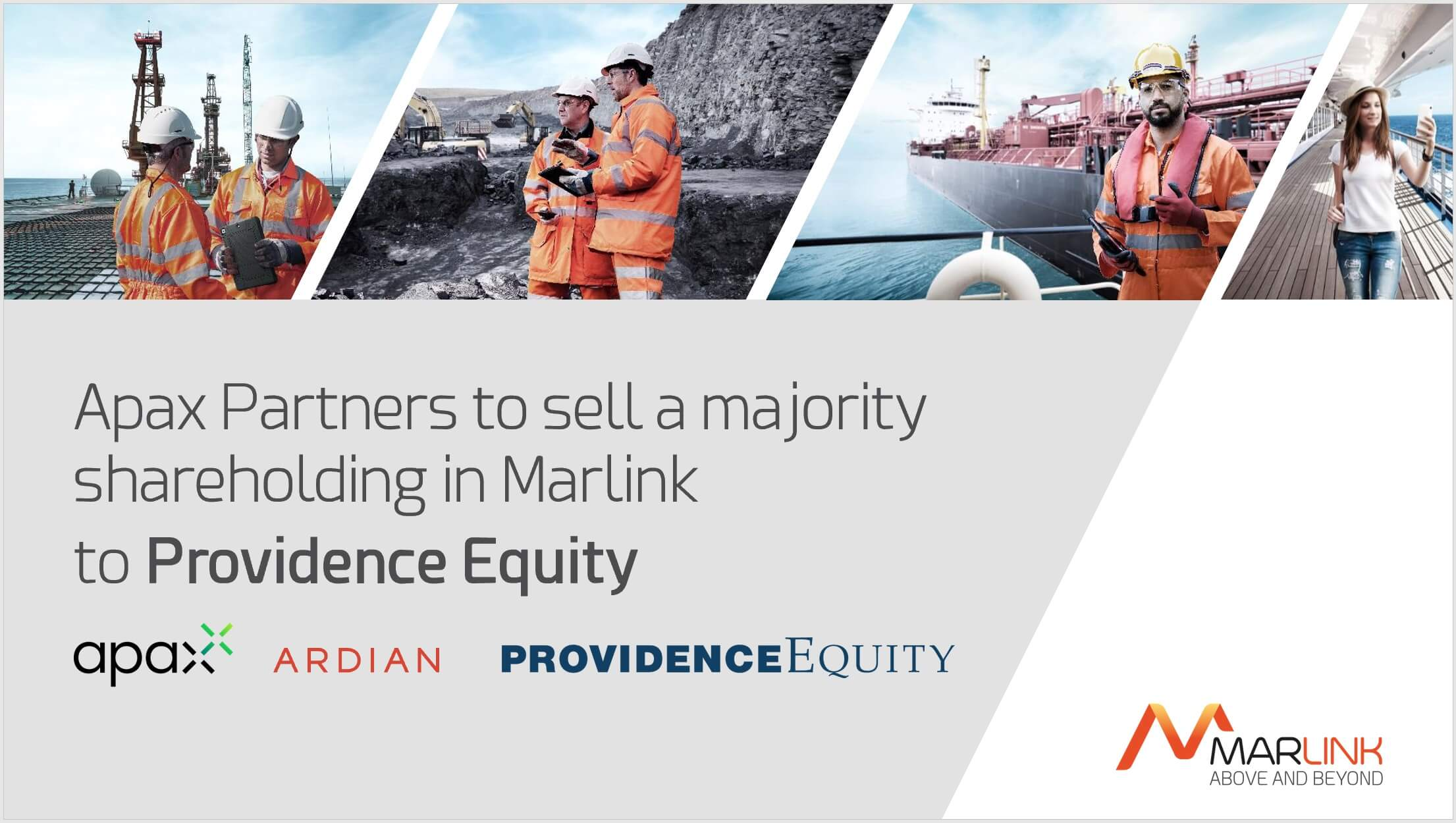 Apax Partners to sell a Majority Shareholding in Marlink to Providence